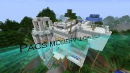 Pacs modern luxury villa - Suitable for everyday use Minecraft Map & Project
