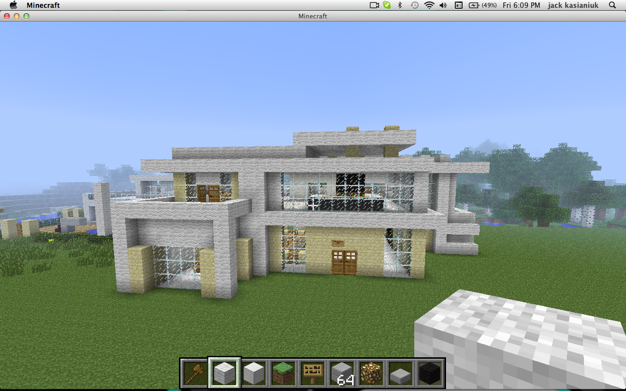 Modern house 2 minecraft project for Modern house projects