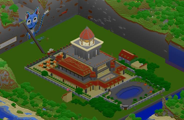 Minecraft Naruto Build - Ceria k0