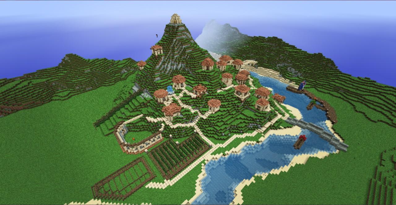 Minecraft roman villa aqua bavaria minecraft project