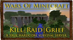 ❖Wars Of MInecraft❖ Harcore Survival Server [Raid] Economy - Clans - mcMMO - No Protection - MiniGames Minecraft