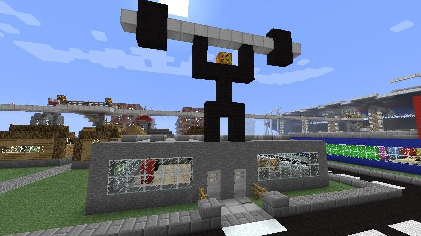 Minecraft gym minecraft project