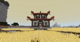 Asian farm Minecraft Map & Project