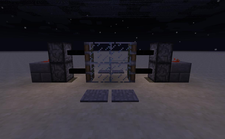 Minecraft Piston Door 2x2 Compact Beginners Minecraft Project