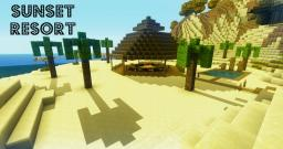 Sunset resort - contest Minecraft Map & Project