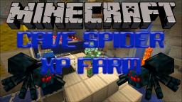Cave Spider XP Farm Tutorial Minecraft Map & Project