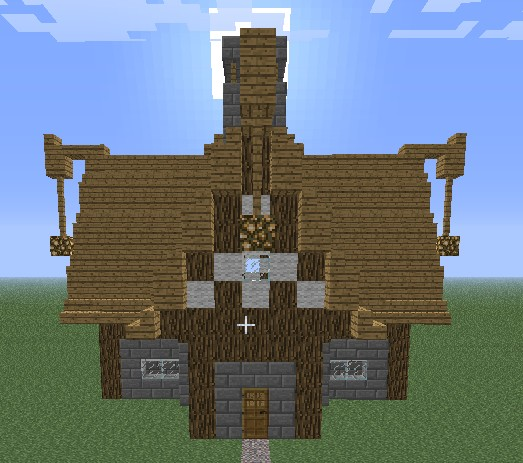 Nordic House Designs Minecraft Project
