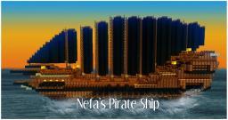 Nefa's Pirate Ship - V1.1 Minecraft Map & Project