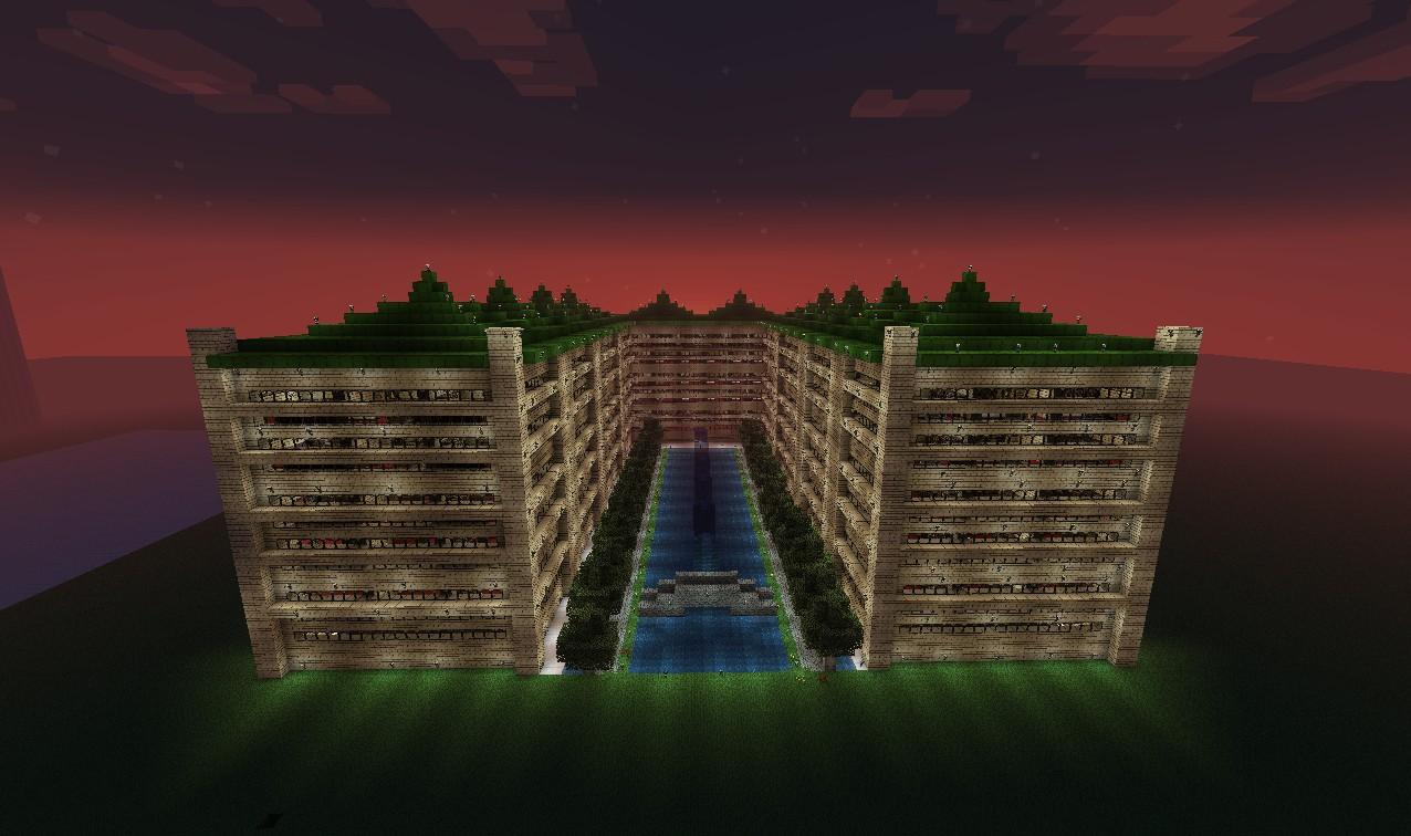 Minecraft Hotel Build Muat Turun P