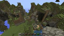 Wierd NPC Village Redecoration Minecraft Map & Project