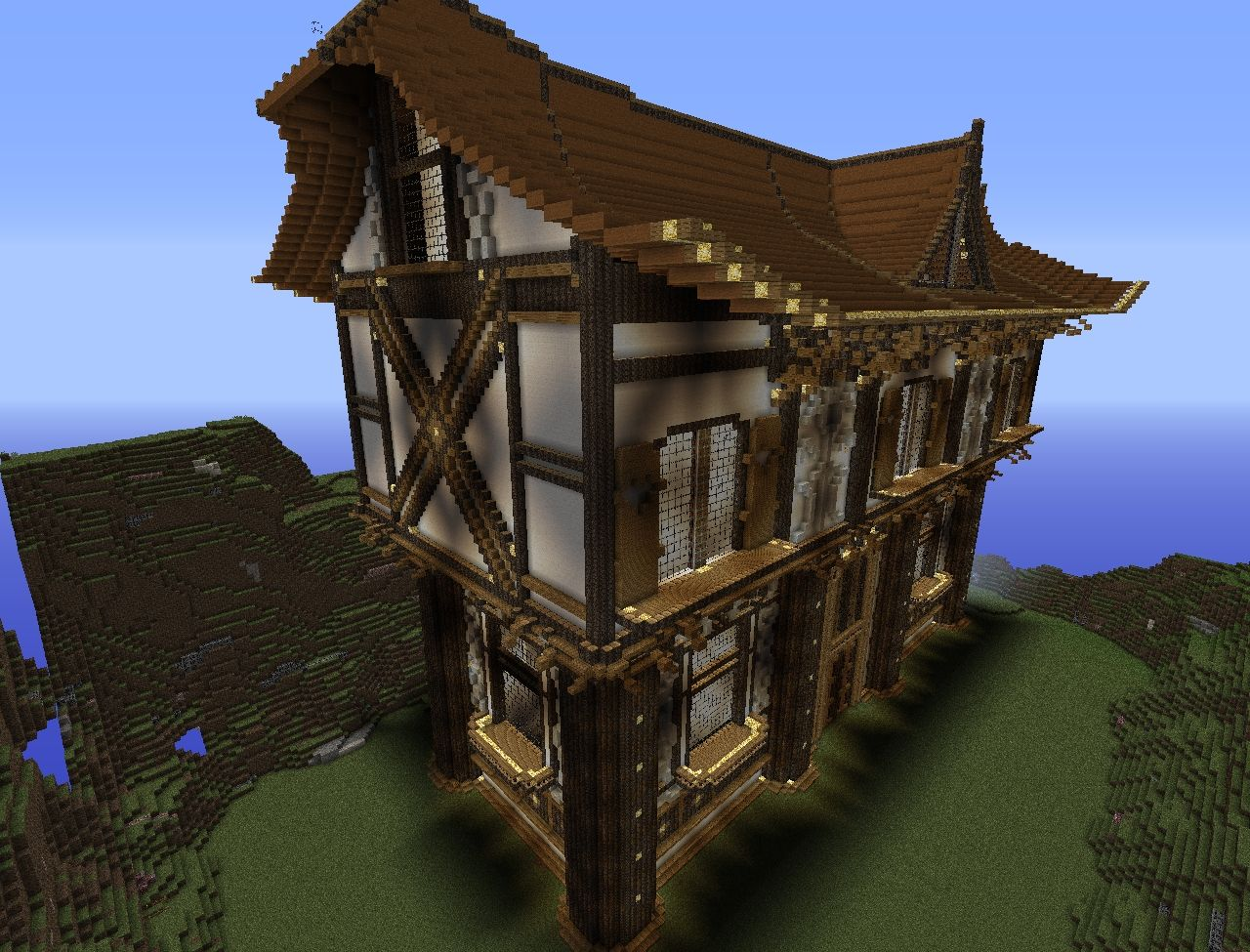 Awesome Small Houses Fabulous Best Ideas About Easy Minecraft