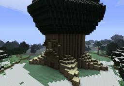 Great Deku Tree Minecraft Map & Project