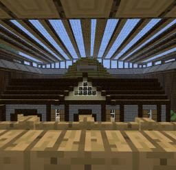 Large Modern Arena Minecraft Map & Project