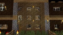 Small Wooden Town House Minecraft Project