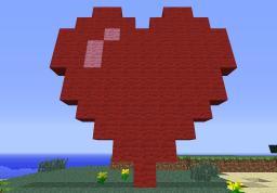 Love Heart Minecraft