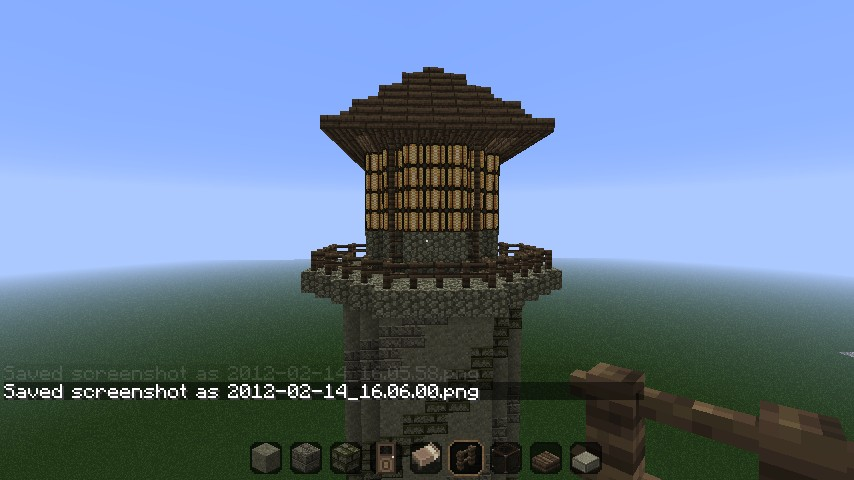 Medieval Lighthouse Minecraft Project