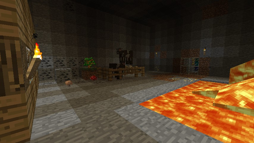 The Underground Area you spawn In