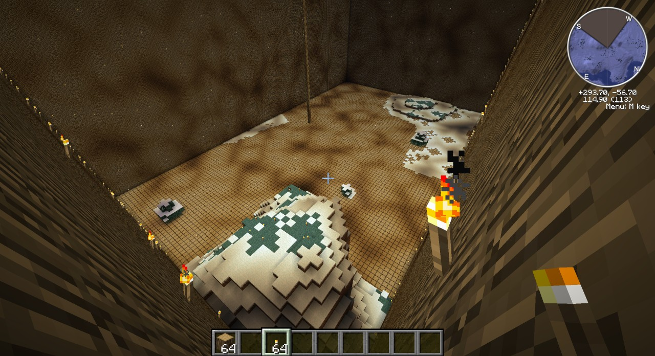 Huge Wood House Burn It Down  Minecraft Project