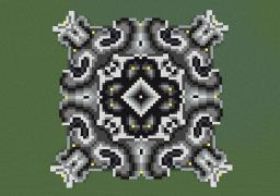 The Most Amazingly Random and Nearly Entirely Gray-Scale Pixel Art Minecraft Map & Project