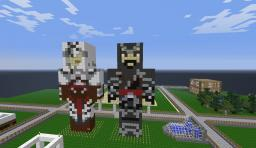 Ezio Statue Minecraft Map & Project