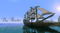 The Flachet Medieval Galleon *With Download* Minecraft Map & Project