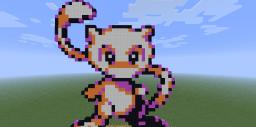 Mew pixel art {Download} Minecraft Map & Project
