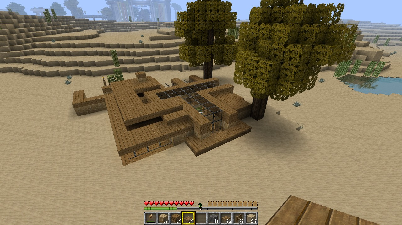 Simple Modern House Minecraft Images Pictures Becuosimple