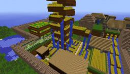 Farm Town Minecraft Map & Project