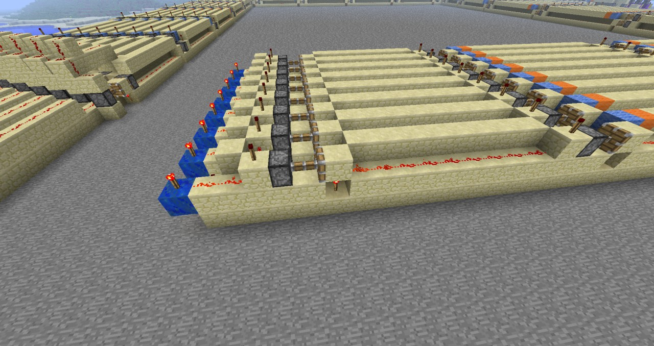 1 Tick Instant Stackable Wiring With 2 Stable States Minecraft Project How To Make An Off Delayed On Redstone Circuit Testbench Includes All Elements Total Delay
