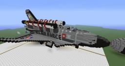 X-71 Super Space Shuttle Minecraft Map & Project
