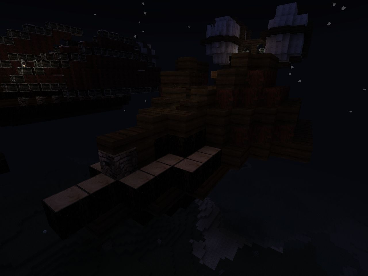 Progress Lighting Lucky Collection 33 56 In 4 Light: Airship Harpy Minecraft Project