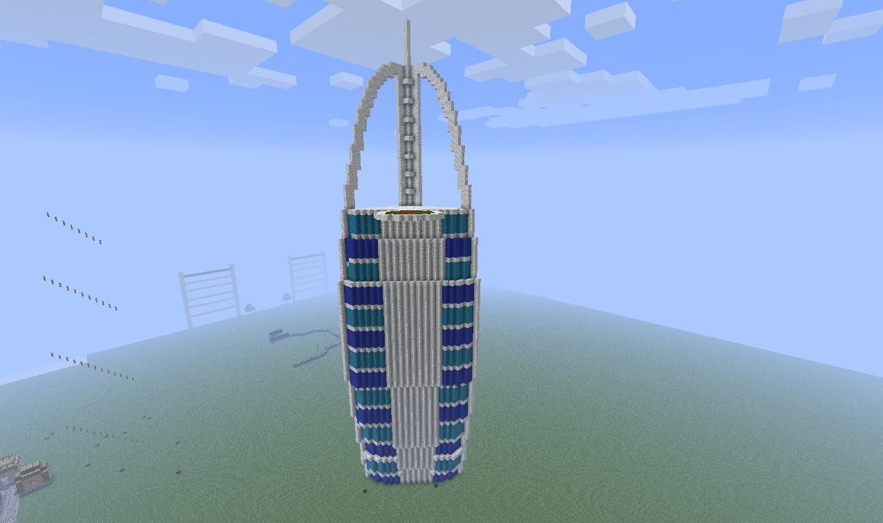 Burj Al Arab Minecraft Project