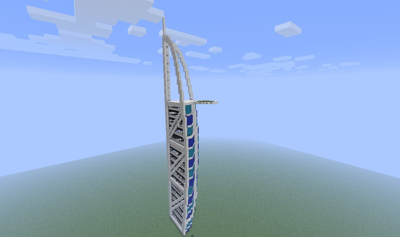 Burj Al Arab Minecraft Project