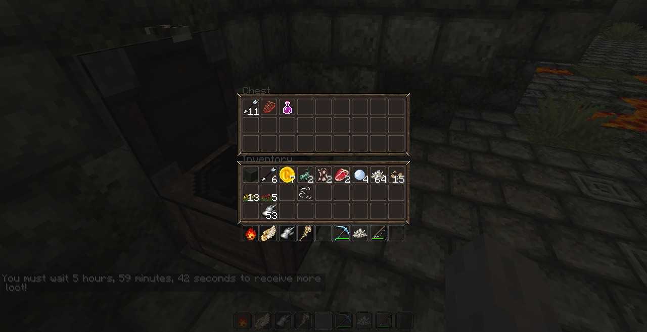 Loot in chests that replenish per person