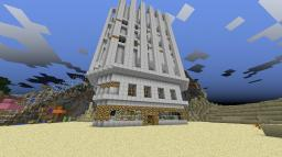 Resort Project Contest Entry--Neo-Tropical Resort Tower(s) Minecraft Map & Project