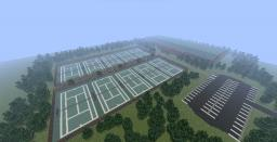 Club Fortuna- Tennis Club (Featured by MCMowns!) Minecraft Map & Project