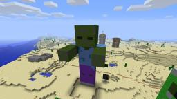 Giant Zombie Minecraft Map & Project