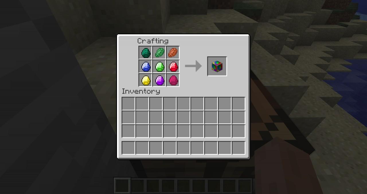 Gem Block Crafting