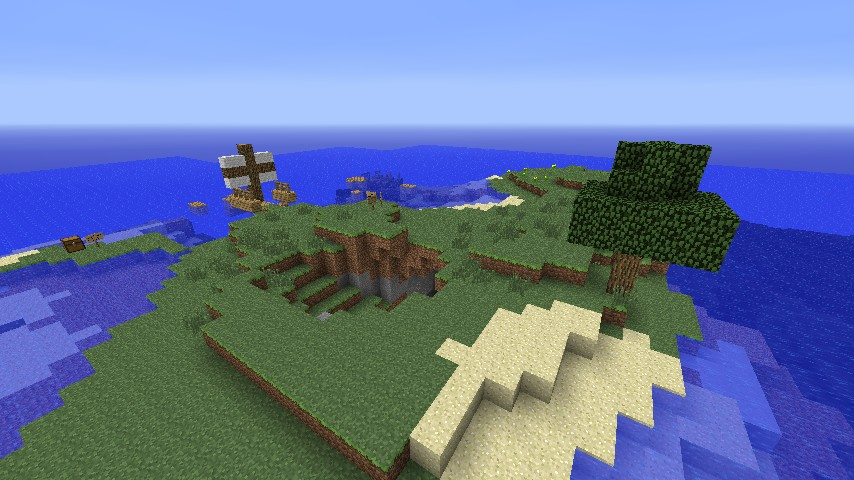 Shipwreck Island Minecraft Project