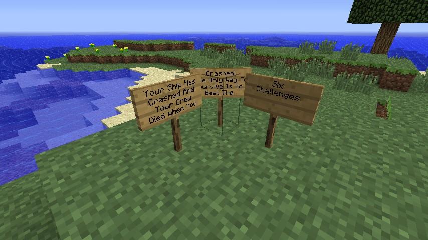Shipwreck Island Minecraft Project