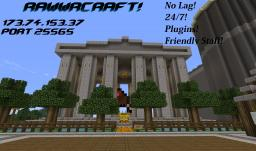 Rawwr Craft! 1.2.4! 10GB■Low Lag■PvP■MultiWorlds■Factions■Fun Minecraft Server