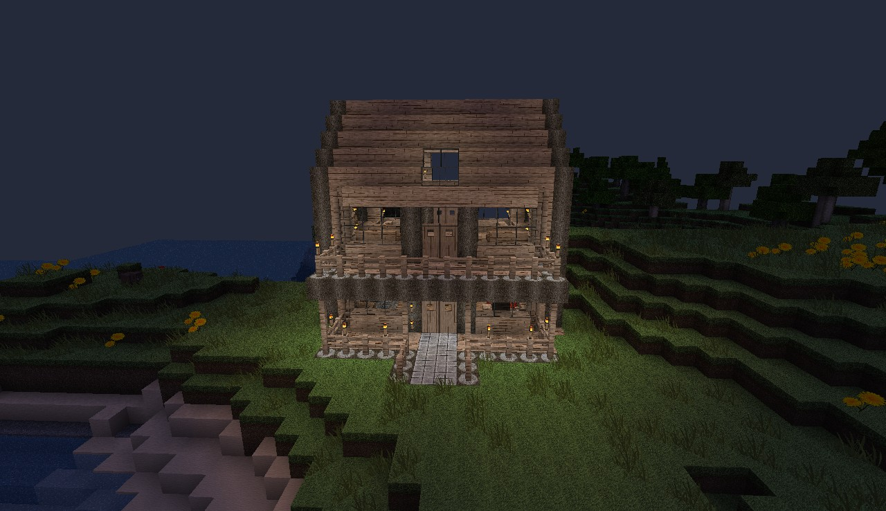 2 story house minecraft project for A 2 story house
