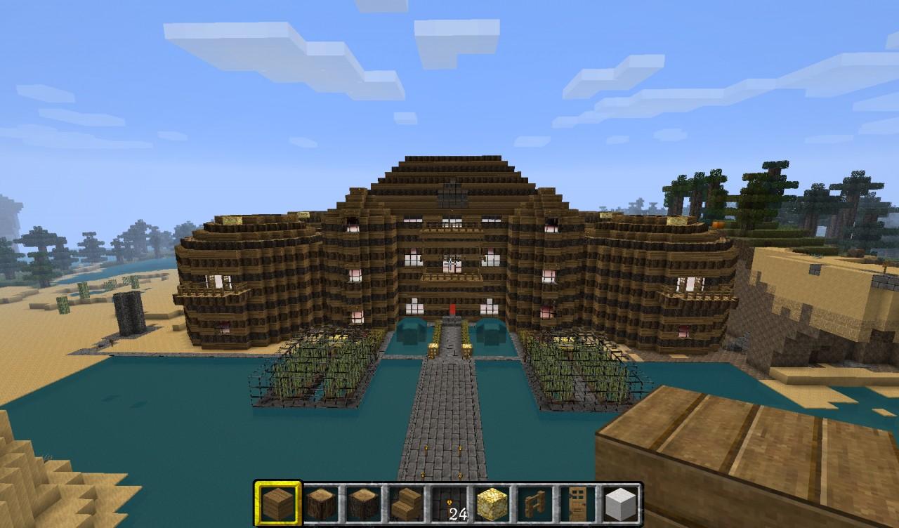 Huge Mansion Decoration Contest Minecraft Project