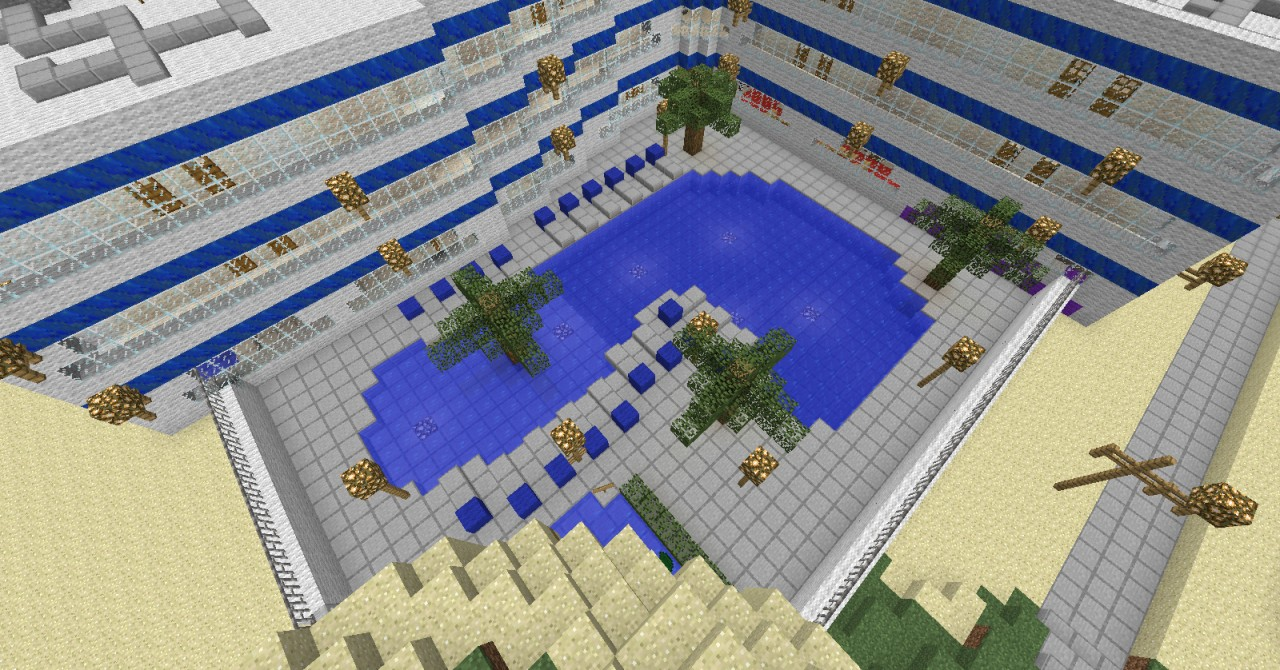Palm Beach Hotel- Pool