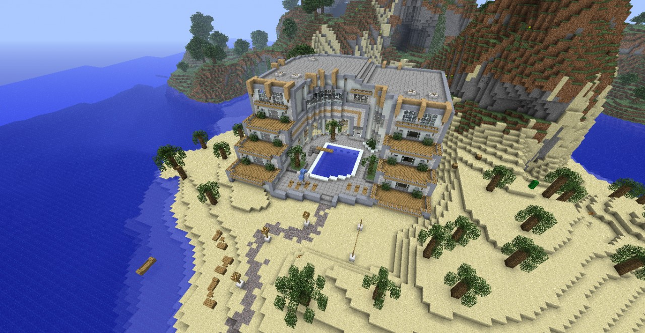Contest Entry Wabakani Hotel Minecraft Project