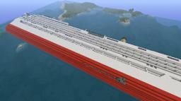 Costa Concordia Minecraft Map & Project