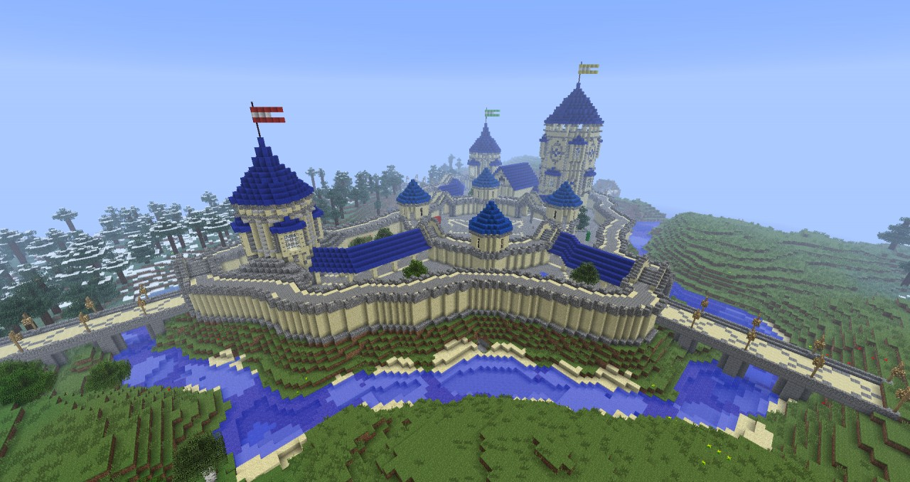 Redsands Creative Spawn Minecraft Project