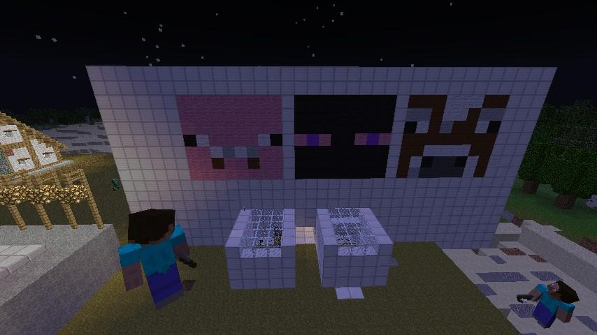 Pet Shop Redstone Doors Minecraft Project