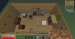 Steve`s Room In Minecraft