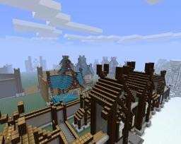 Large Nordic City Minecraft Map & Project